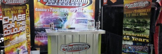 Peterborough Speedway Motorama Booth