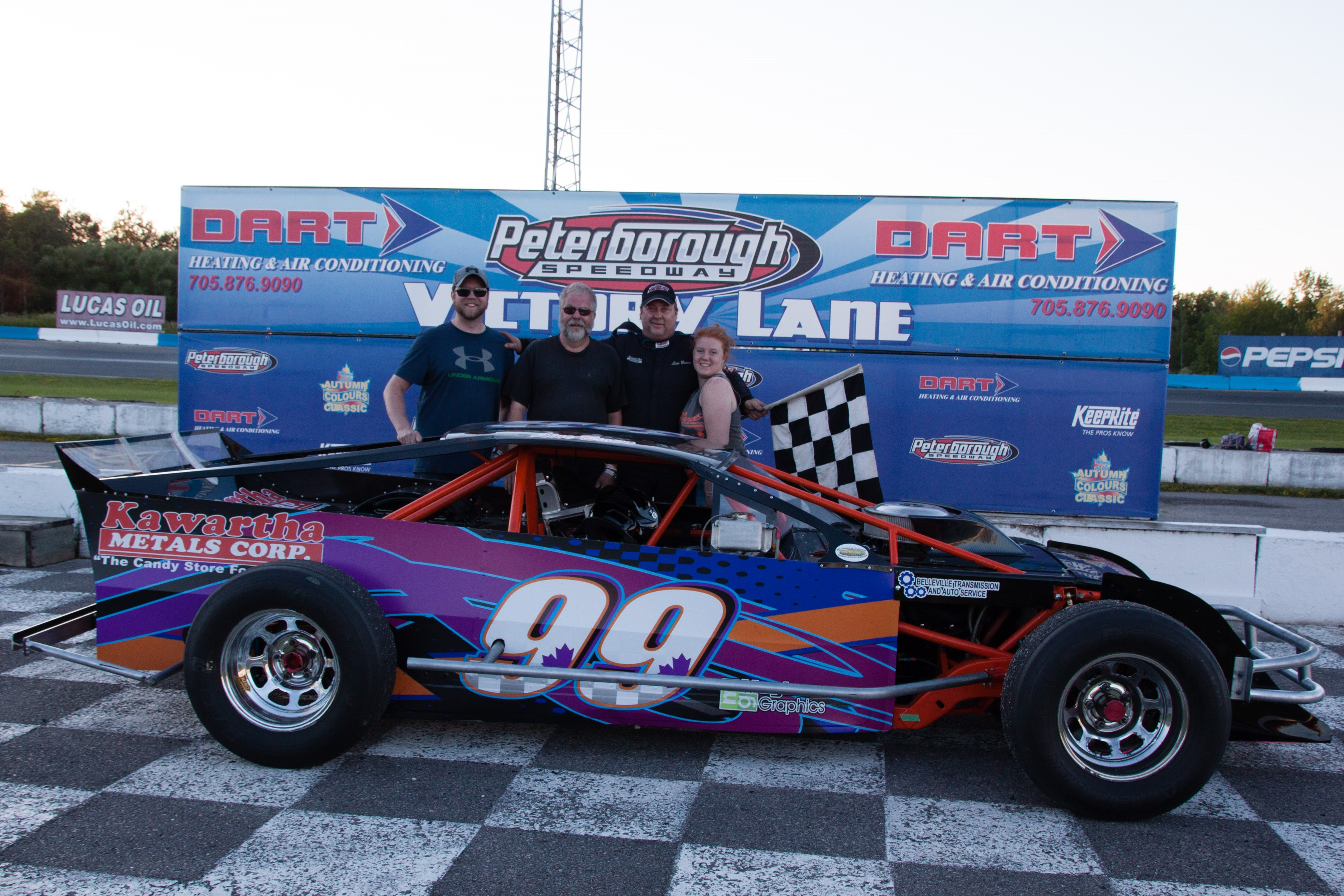 Trailers Plus Peterborough >> Peterborough Speedway Peterborough On June S Action Concludes